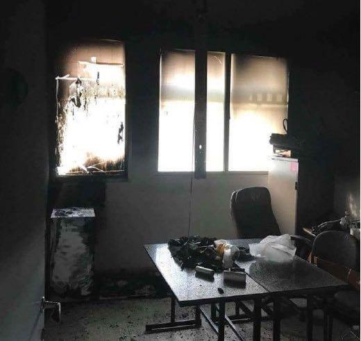 الطيرة: إضرام النار في صف تعليمي لذوي الاحتياجات الخاصة