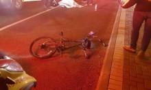 مصرع راكب دراجة هوائية في حادث قرب عكا
