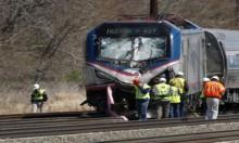 116 مصابا بحادث تصادم قطارين بأميركا