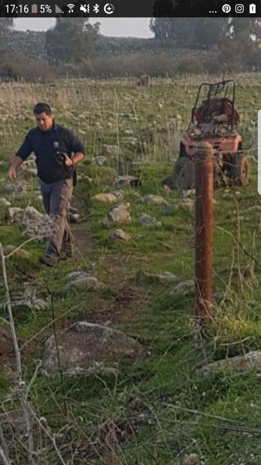 طوبا الزنغرية: مصرع فتى في حادث انقلاب دباب