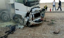 البحر الميت: مصرع شخص في حادث طرق