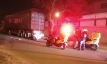 بئر السبع: مصرع سائق دراجة نارية في حادث طرق