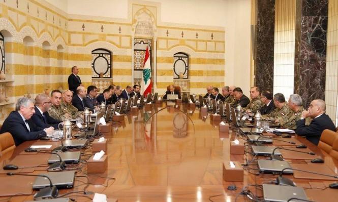 لبنان يمنح القوى العسكرية تغطية سياسية لمواجهة الاعتداءات الإسرائيلية