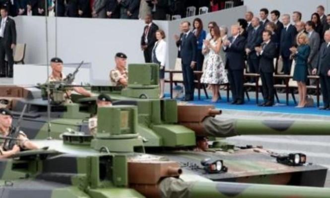 عرض عسكري أميركي بأمر من ترامب