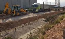 إسرائيل تبدا ببناء جدار فاصل في منطقة رأس الناقورة