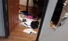 الاعتداء على مدرسة الطور الابتدائية في دبورية