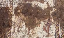 اكتشاف فسيفساء رومانية عمرها 1800 عام قرب قيسارية