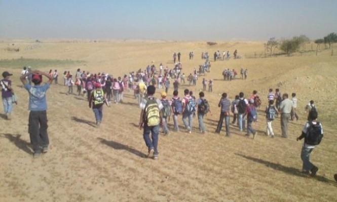 النقب: المحكمة تنظر في التماس إقامة محطات لنقل أطفال المدارس