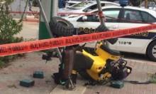 إصابة حرجة لسائق دبّاب قرب عبلين
