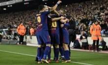برشلونة يبلغ نهائي كأس ملك إسبانيا
