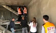  شعب: إصابة خطيرة لعامل سقط من علو
