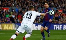 برشلونة يقع بكمين التعادل أمام خيتافي