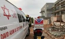 صفد: إصابة عاملين في ورشة بناء