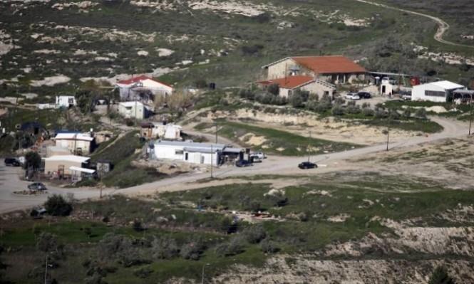 مستوطنون يقيمون بؤرة استيطانية جديدة قرب نابلس