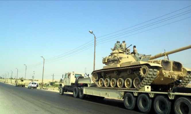 """مصر: """"عملية سيناء العسكرية لا تستهدف توطين الفلسطينيين"""""""