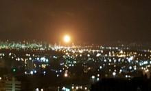 خلل في منشأة في مصانع التكرير في حيفا يرفع ألسنة اللهيب