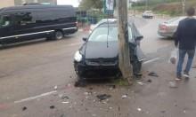 عين ماهل: إصابتان في حادث طرق