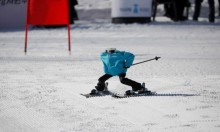 مسابقة تزلج جبلية للروبوتات في أولمبياد كوريا الجنوبية!
