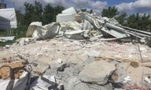 اللد: هدم منزل مواطن عربي بحجة البناء غير المرخص