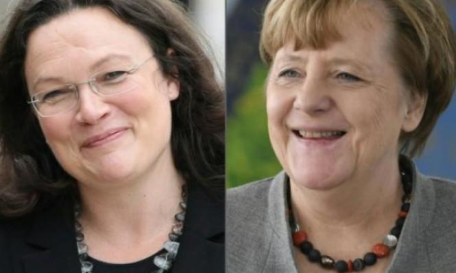 """ألمانيا: """"حين ينهار كل شيء نستنجد بالنساء"""" خاصة بالسياسة"""