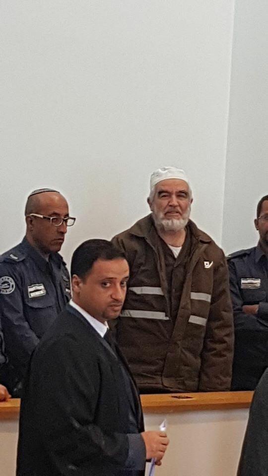 تمديد العزل الانفرادي 6 أشهر للشيخ رائد صلاح