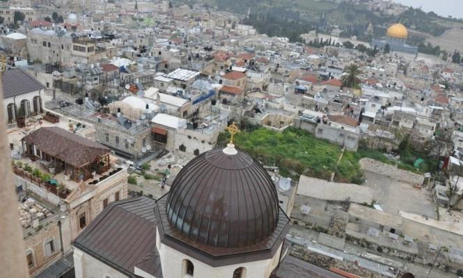 بلدية الاحتلال بالقدس تحجز أملاك بطريركية الروم الأرثوذكس