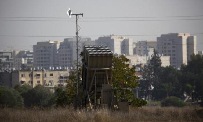 صواريخ سورية عبرت فوق تل أبيب السبت الماضي