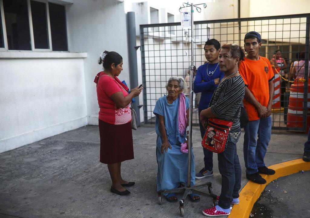 زلزال بقوة 7.2 درجات يضرب المكسيك (صور)