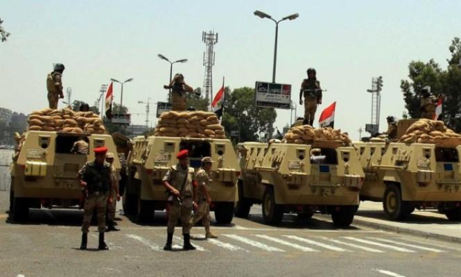 الجيش يستنفر بسيناء ويعلن مقتل 7 مسلحين واعتقال 408