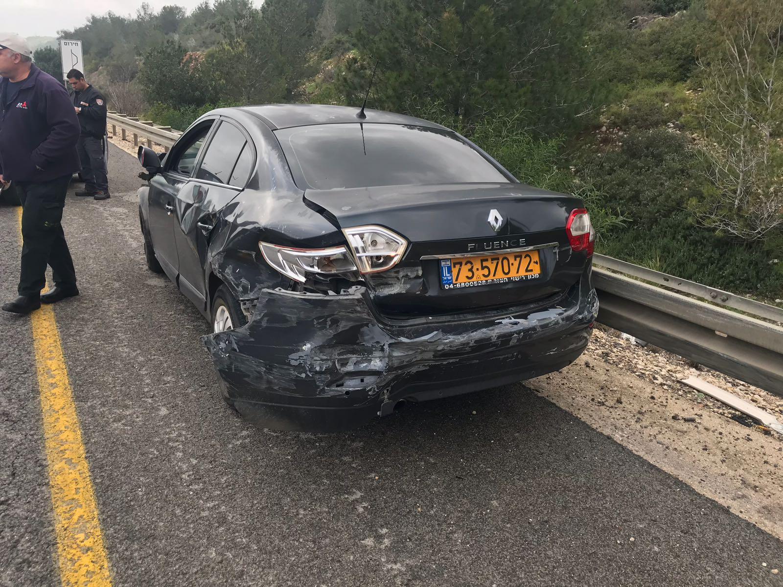 إصابة امرأة في حادث طرق قرب مجد الكروم