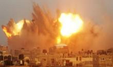 شهيدان بالغارات وبالقصف المدفعي للاحتلال على غزة