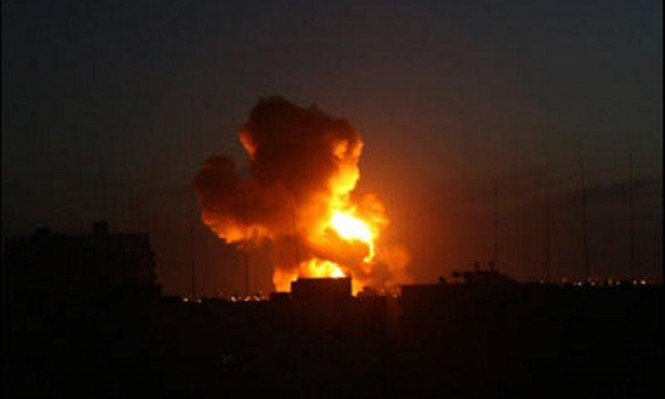 طائرات الاحتلال تجدد قصفها لغزة والمقاومة تتوعد