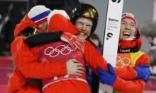 أولمبياد 2018: النرويج يحصد ذهبية الفرق للقفز على الثلج