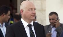 غرينبلات يجدد تحريضه على حماس ودعمه لإسرائيل