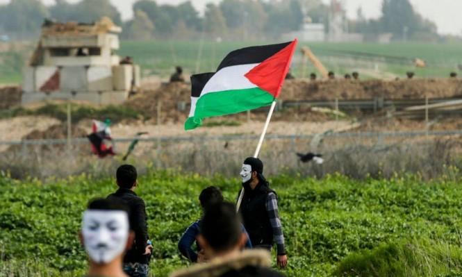 العبوة الناسفة على حدود قطاع غزة كانت علما مفخخا