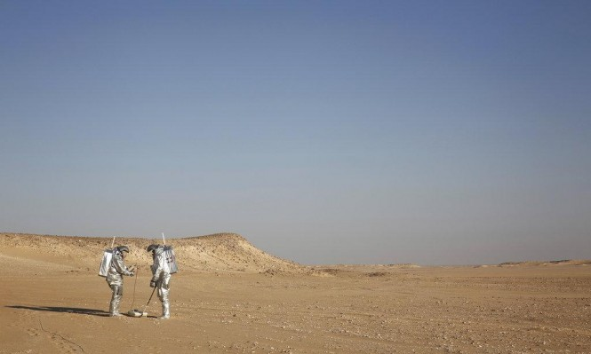 تجربة لمحاكاة العيش على المريخ في صحراء النقب