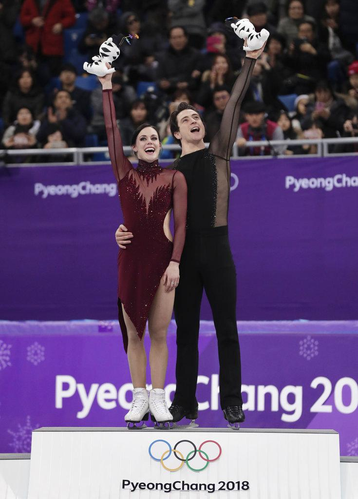 أولمبياد 2018: كندا تحصد ذهبية الرقص على الجليد