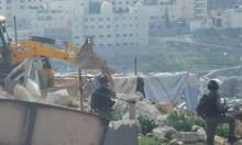 القدس: هدم مسكن مواطن في تجمع جبل البابا