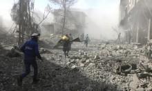 سورية: مقتل 45 مدنيا في الغوطة الشرقية بغارات جوية
