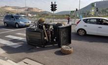 إصابتان خطيرتان في حادث طرق بمحاذاة مجد الكروم