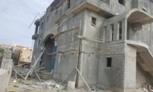 مصرع عامل من غزة سقط عن ارتفاع في طمرة