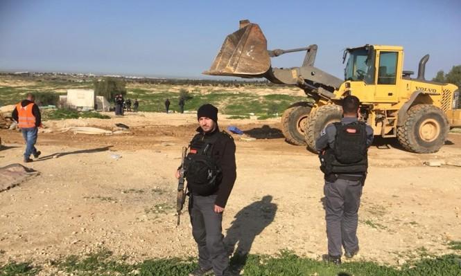 إسرائيل تهدم قرية العراقيب بالنقب للمرة 125