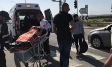 الطيبة: إصابة خطيرة في حادث طرق