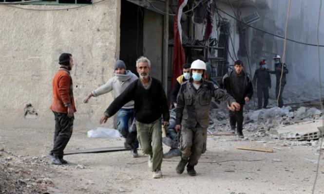 سورية: مجازر الأسد تحصد 56 مدنيًا في الغوطة الشرقية