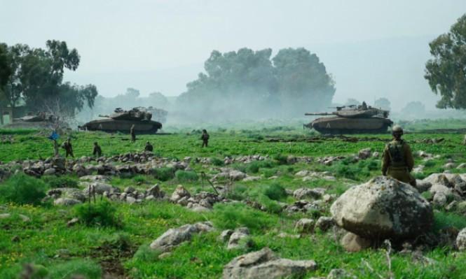 مناورات إسرائيلية تحاكي حربا مع لبنان