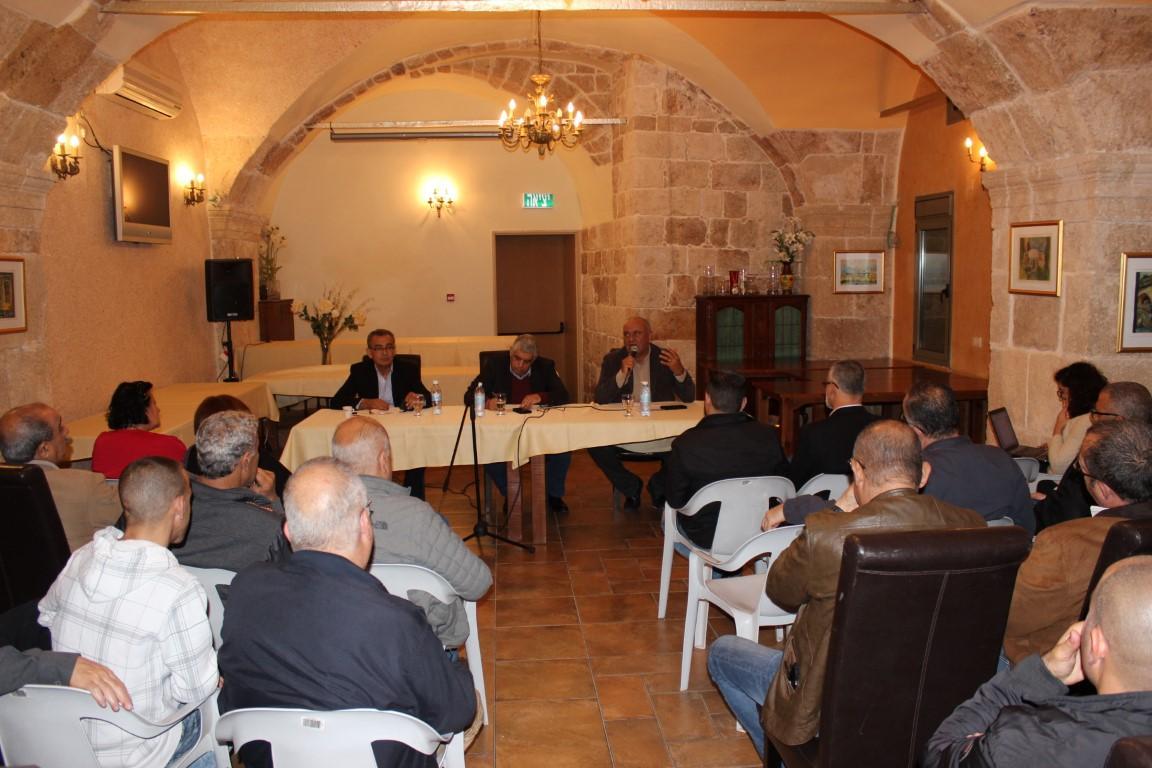 عكا: ندوة سياسية إحياء للذكرى المئوية لميلاد عبد الناصر