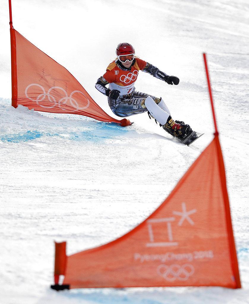 التشيكية ليديكا تدخل تاريخ الألعاب الأولمبية الشتوية