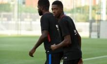 مانشستر يونايتد يترقب مصير ديمبلي مع برشلونة