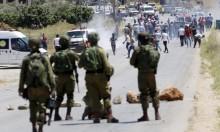 إصابات بمواجهات مع الاحتلال بمناطق مختلفة بالضفة