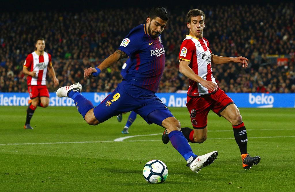 برشلونة يمطر شباك جيرونا بسداسية مقابل هدف
